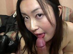 Subtitled Japanese gravure model hopeful Pov blow-job in HD