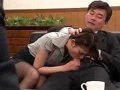 Nao Yoshizaki i Sex Slave Kontor Dame del 1.2