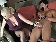 Katie Kox Thick udders  - Cock Masturbator Machine