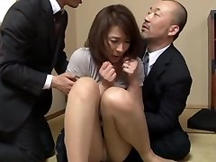 Hisae Yabe super-hot mature honey in mmf group action