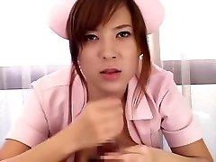 Ultra-kinky Japanese biotch Yuka Maeda in Amazing Medical, Big Orbs JAV scene