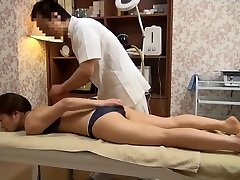 Tender Wife Gets Perverted Massage (Censored JAV)