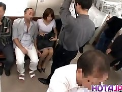 Hot MILF Gets Her Pantyhose Pulled Down To Screw On A Teach