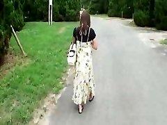 Nosečnice Japonski Lepotni Je, da Vraga Hobos