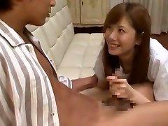 Incredible Japanese chick Yuma Asami in Crazy Cumshots, Big Baps JAV movie