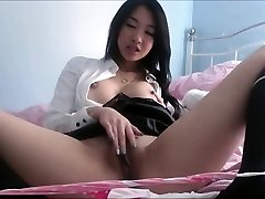 Asian with gigantic bumpers exposed private