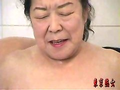 Japonska babica, ki uživajo sex