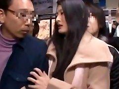 Risa Murakami, Madoka Kitahara in Romped In Front Of Spouse