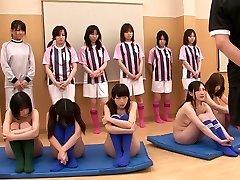 Szexi lányok meztelenül gyakorló maszturbáció