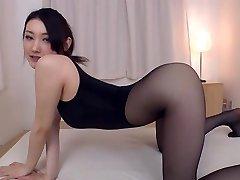 Pantyhose fetish she's glad to indulge