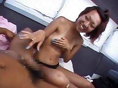 Kinky Japanese model in Fabulous Public, Getting Off JAV clip