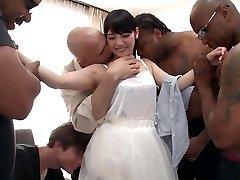 Rei Mizuna in Rei Does Her First Multiracial Gang-bang - TeensOfTokyo