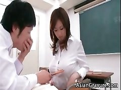 Splendid and horny asian lecturer shows her part3