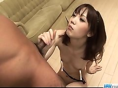 Sensual Ageha Kinashita covets to gulp some jizz