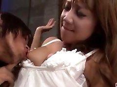 Ekstremalne porno sceny z gorąca żona Rio Akanishi