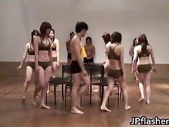 Super red-hot Chinese girls flashing