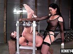 Super Hot pornstar femdom and pop-shot