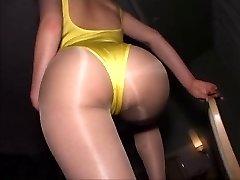 japanese pantyhose pummel part 2