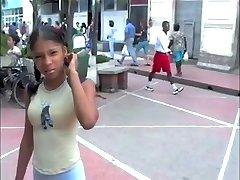 Dominican-thai college girl schoolgirls compilation