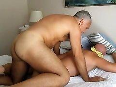 Dad used a man