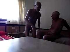 Gay grandpas fucking