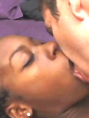 Black girl getting fucked doggy style
