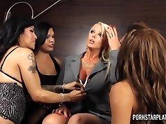 PornstarPlatinum - Alura Jenson Overwhelmed by Ladyboys