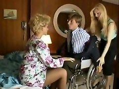 Sharon Mitchell, Jay Pierce, Marco in vintage fuckfest episode
