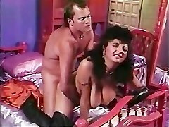 Paki Aunty is tired of Lil' Japanese Paki Dick so goes for Huge Western Cock