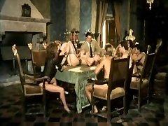 Moana Pozzi and Angelica Bella ass-fuck orgy - Ass-fuck Stars (1991)