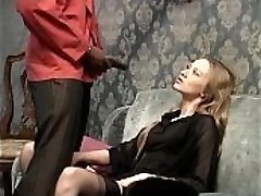 Smoking milky slut wants to be fucked by her black submissive