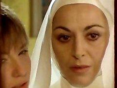Nun seduced by all girl!