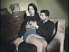 Monica Roccaforte v prdeli jej kňaz