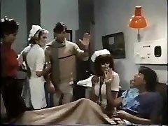 Nurse Parker treats patient to a blowjob