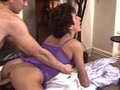 חרמנית אשתו Doggystyle זיין הלבשה תחתונה סקסית