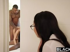 BLACKED I caught  step sister with two black boys