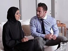 TeenPies - Hot Muslim Teen Pounded And Creampied