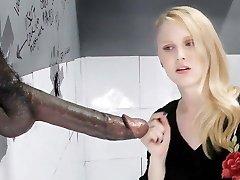 Lily Rader Bj's And Fucks Big Dark-hued Dick - Gloryhole