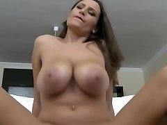 HUGE Ginormous Innate BOUNCING BOOBS RIDING TITS