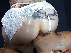 Stud rimming and fucking dirty tramp