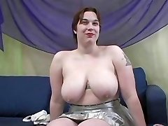 Chunky Titted Rowan Gets Her Fat Bootie Humped