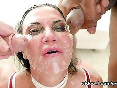 Jasmine Jae & John Heavy in Jasmine: Interracial Deepthroat Bang/Double Penetration Orgy - EvilAngel