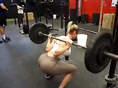 Fitness hot ass sizzling cameltoe 56