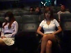Exotic Japanese mega-bitch in Incredible Public, Blowjob/Fera JAV video