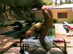 Super-fucking-hot midget fucks a big hard cock