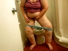 My Plumper Ex-Motel toilet wipe voyeured-short version