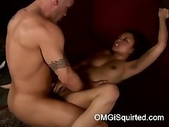 Annie Cruz gets wild and pumps out
