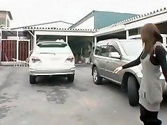 strašan japanese girl saki tsuji u najbolji automobil isječak jau