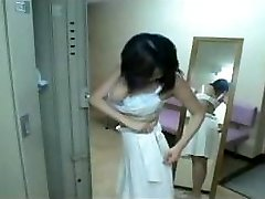 Japonská Dievča osprchovať sa