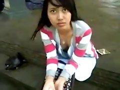 indonézsky-anggi exhibitionist z bogor
